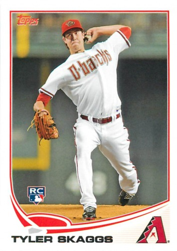 Photo of 2013 Topps #173 Tyler Skaggs RC