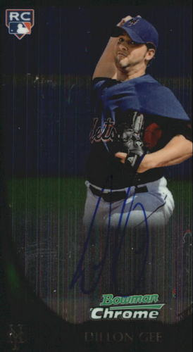 Photo of 2011 Bowman Chrome Rookie Autographs #212 Dillon Gee