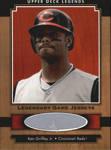 Photo of 2001 Upper Deck Legends Legendary Game Jersey #JKG Ken Griffey Jr.