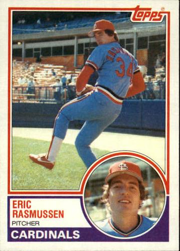 Photo of 1983 Topps #594 Eric Rasmussen
