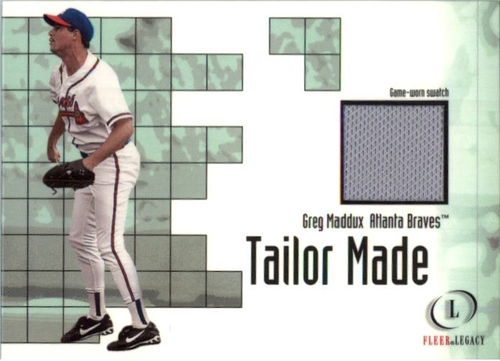 Photo of 2001 Fleer Legacy Tailor Made #13 Greg Maddux