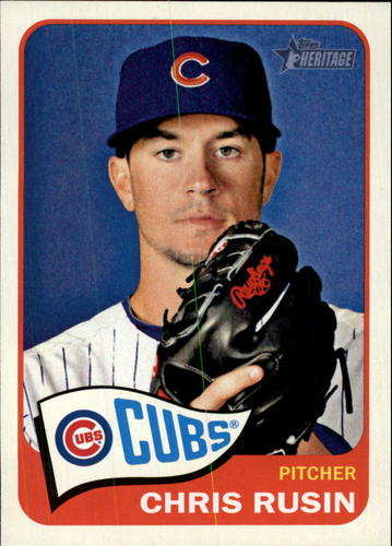 Photo of 2014 Topps Heritage #372 Chris Rusin