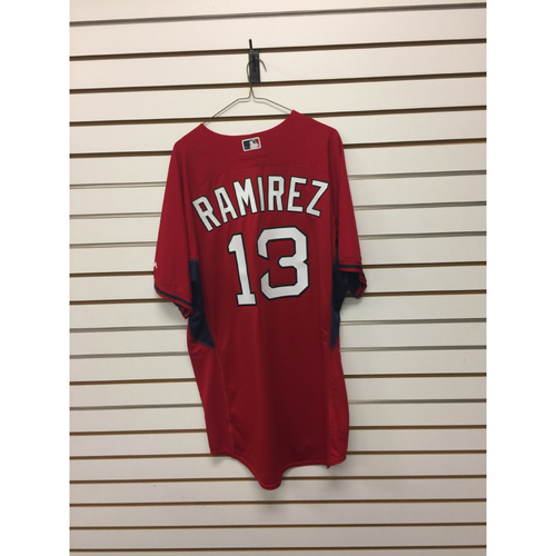 Hanley Ramirez Team-Issued Home Batting Practice Jersey