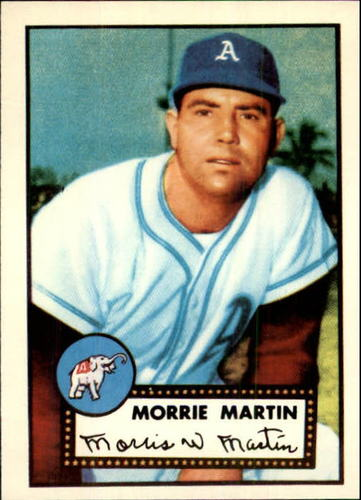 Photo of 1983 Topps 1952 Reprint #131 Morrie Martin