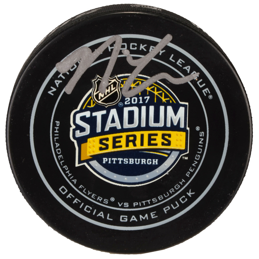 Nick Cousins Philadelphia Flyers Autographed 2017 Stadium Series Official Game Puck