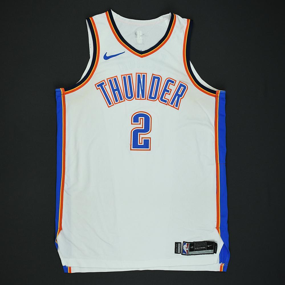 Raymond Felton - Oklahoma City Thunder - 2018 NBA Playoffs Game-Worn Jersey