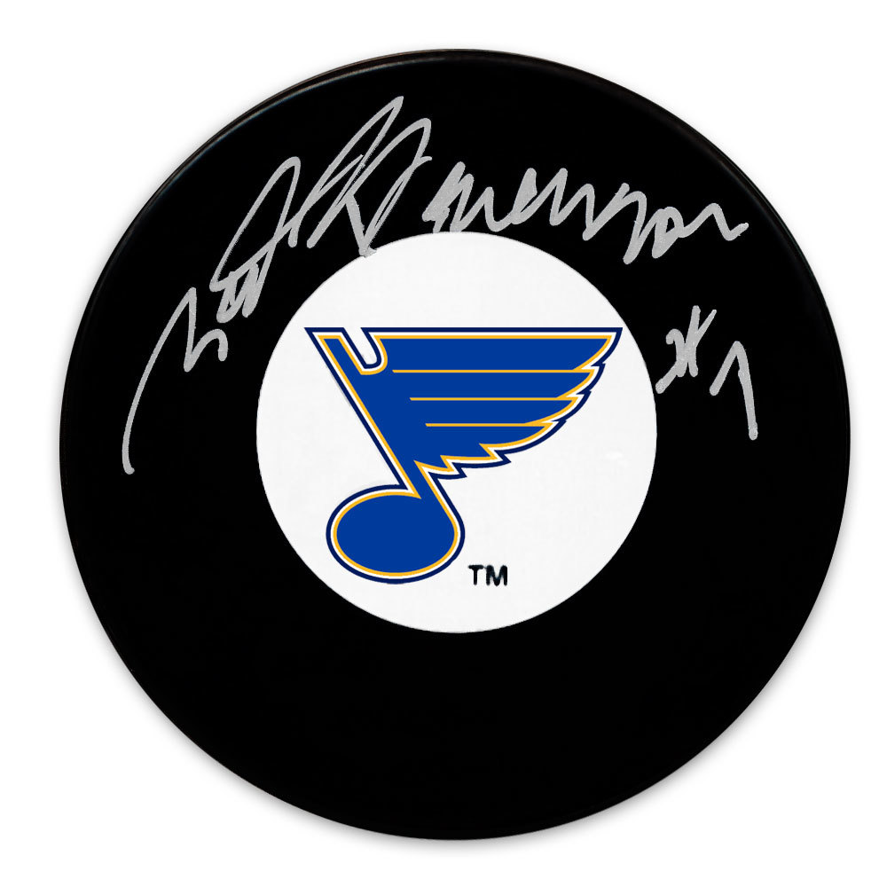 Red Berenson St. Louis Blues Autographed Puck