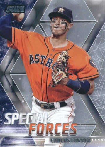 Photo of 2018 Stadium Club Special Forces #SFCC Carlos Correa