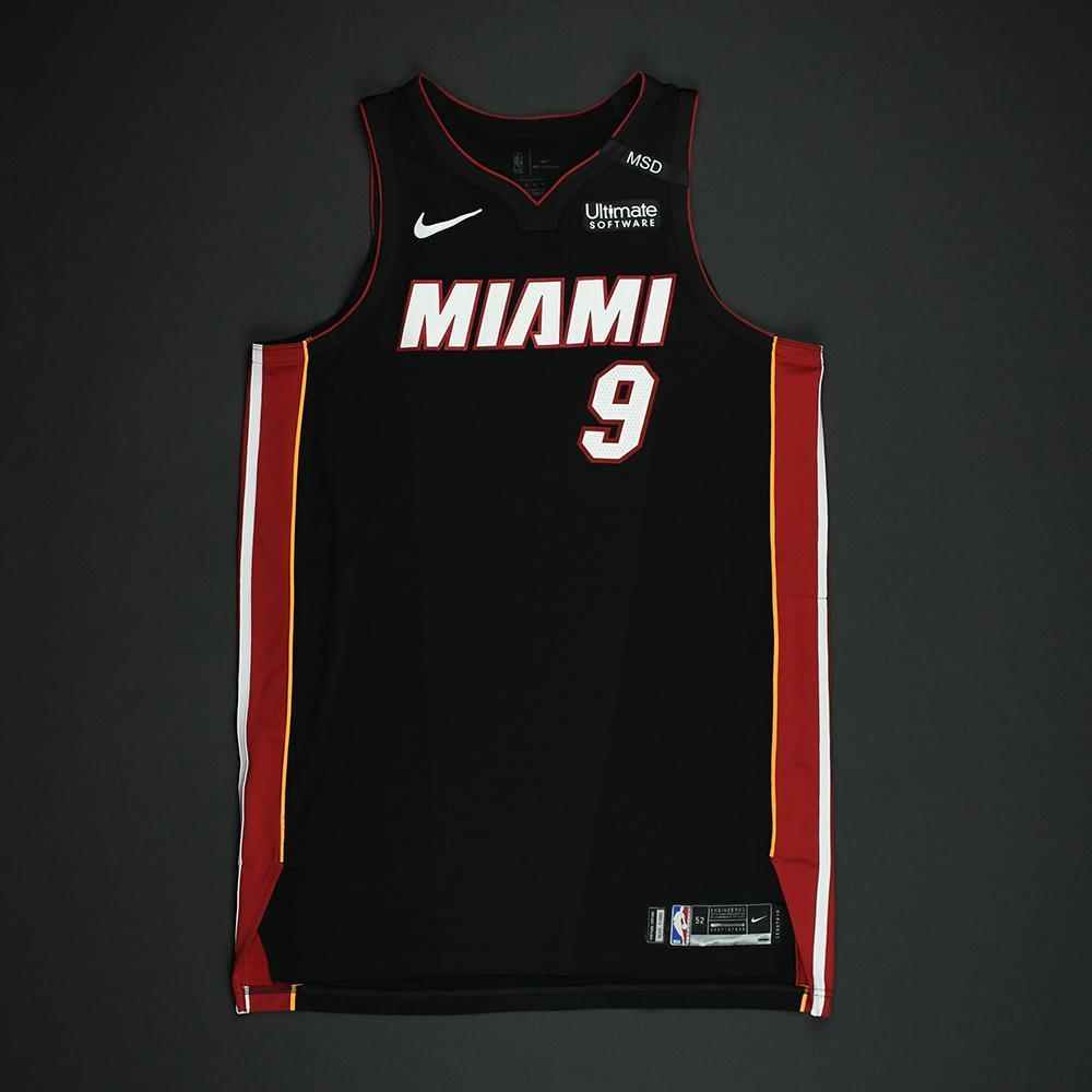 Kelly Olynyk - Miami Heat - 2018 NBA Playoffs Game-Worn Jersey