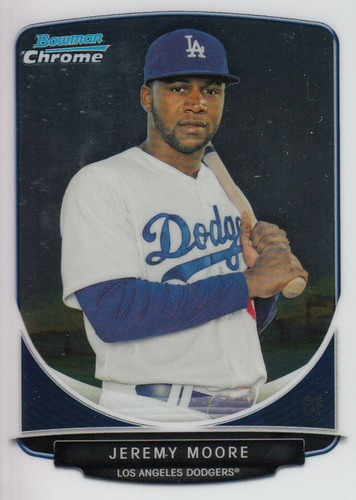 Photo of 2013 Bowman Chrome Prospects #BCP34 Jeremy Moore