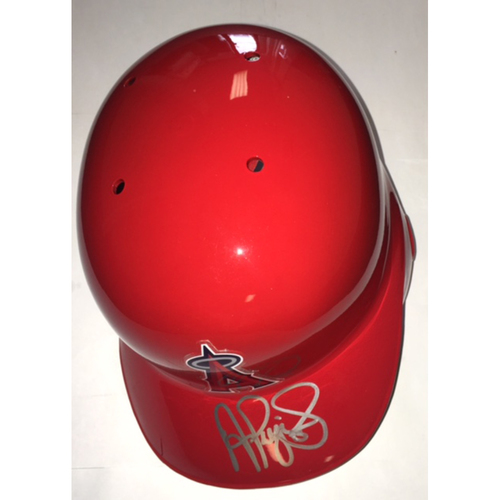 Albert Pujols Autographed Angels Batting Helmet