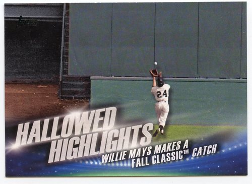 Photo of 2016 Topps Hallowed Highlights #HH7 Willie Mays