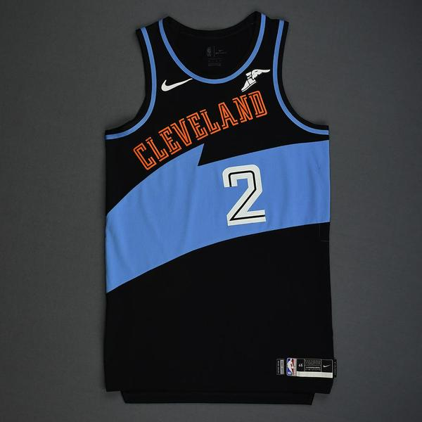 Image of Collin Sexton - Cleveland Cavaliers - Game-Worn Classic Edition 1994-96 Road Jersey - 2019-20 Season