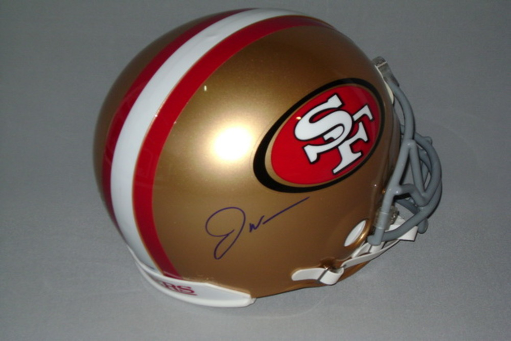 NFL - 49ERS JOE WILLIAMS SIGNED 49ERS PROLINE HELMETS