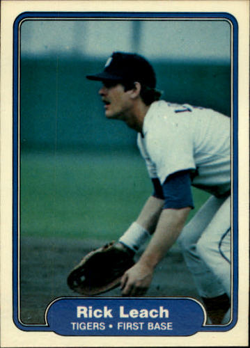 Photo of 1982 Fleer #272 Rick Leach