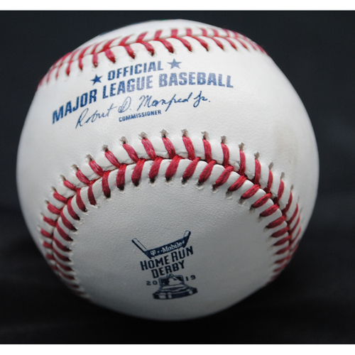 Photo of 2019 Home Run Derby (07/08/19) - Game-Used Baseball - Pete Alonso (New York Mets) - Round 2, Out
