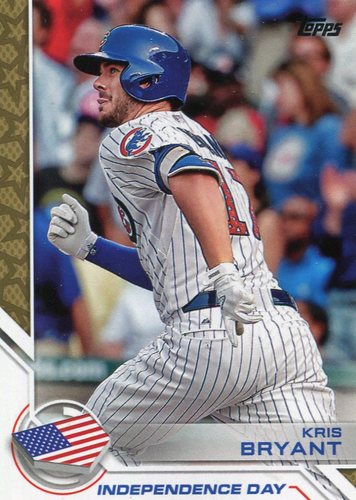 Photo of 2017 Topps Independence Day #ID11 Kris Bryant