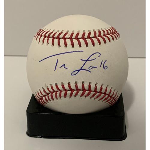Photo of Tim Locastro Autographed Ball