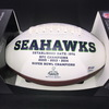 PCF - Seahawks Jacob Martin Signed Panel Ball with Seahawks Logo