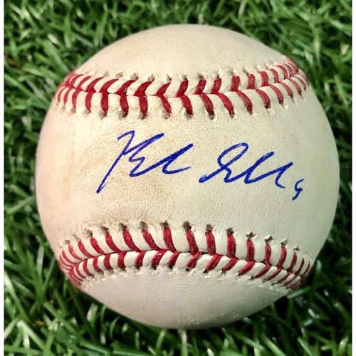 Photo of Game Used Autographed Baseball: Blake Snell (W, 5.0IP, 5 SO) - 2018 A.L. Cy Young Award Winner - 20th Win of Season - September 18, 2018 at TEX