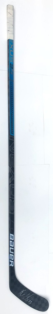 #53 Bo Horvat Game Used Stick - Autographed - Vancouver Canucks