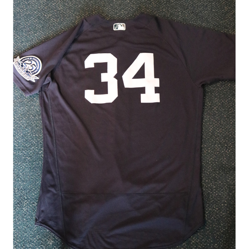 Photo of Team-Issued Spring Training Jersey - Chad Bettis - #34 - Jersey Size - 46