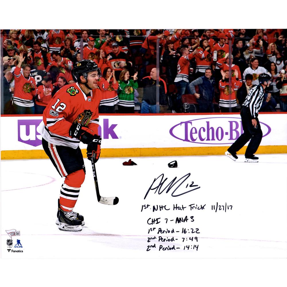 Alex DeBrincat Chicago Blackhawks Autographed 16