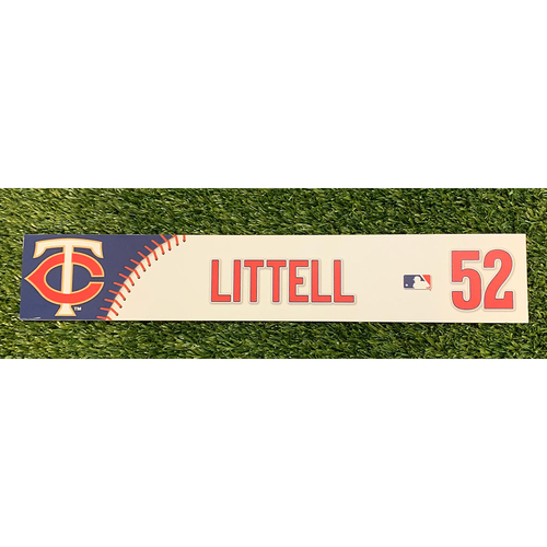 Photo of Minnesota Twins 2019 Game-Used Locker Name Tag - Choose Your Player!