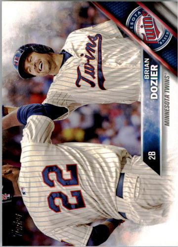 Photo of 2016 Topps #308 Brian Dozier