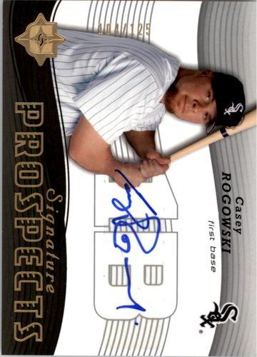 Photo of 2005 Ultimate Signature #117 Casey Rogowski AU RC