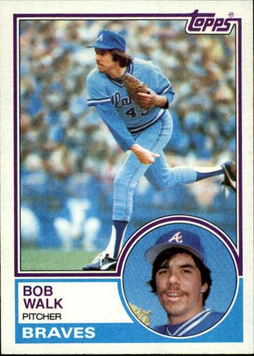 Photo of 1983 Topps #104 Bob Walk