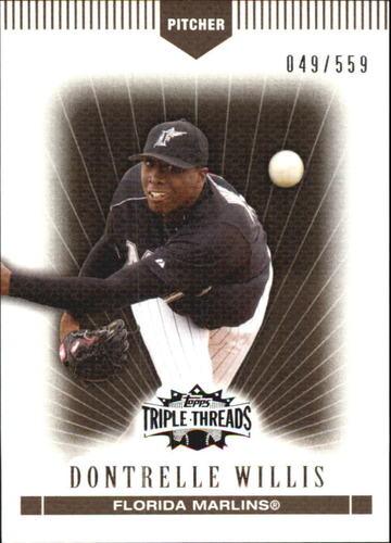 Photo of 2007 Topps Triple Threads Sepia #6 Dontrelle Willis