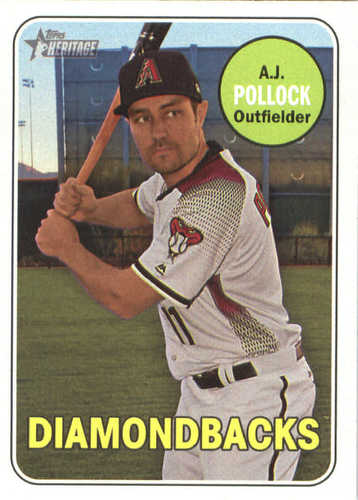 Photo of 2018 Topps Heritage #143 A.J. Pollock
