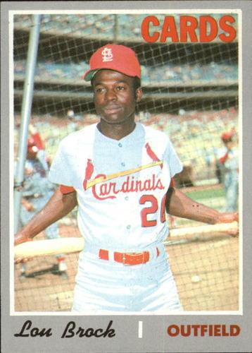 Photo of 1970 Topps #330 Lou Brock