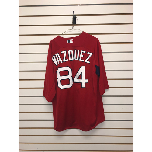 Photo of Ramon Vazquez Team-Issued Home Batting Practice Jersey