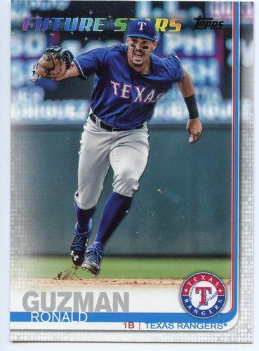 Photo of 2019 Topps #320 Ronald Guzman FS
