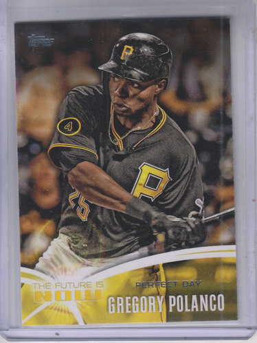 Photo of 2014 Topps The Future is Now #FNGP2 Gregory Polanco UPD