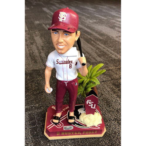 Photo of Autographed Bobblehead of the Month College Series - Florda State University - Autographed by #28 Buster Posey - #1 of 180