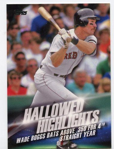 Photo of 2016 Topps Hallowed Highlights #HH14 Wade Boggs