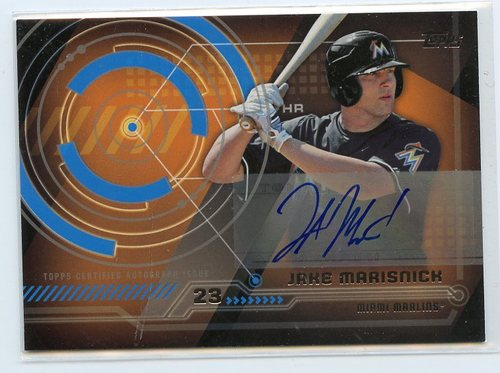 Photo of 2014 Topps Trajectory Autographs #TAJM Jake Marisnick