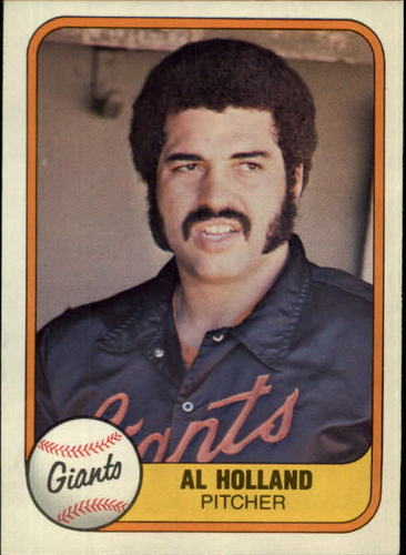 Photo of 1981 Fleer #445 Al Holland RC