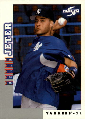 Photo of 1998 Score Rookie Traded #6 Derek Jeter