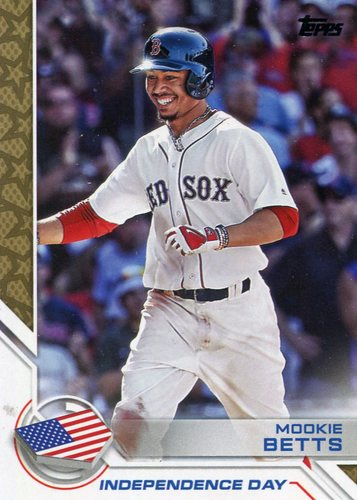 Photo of 2017 Topps Independence Day #ID29 Mookie Betts