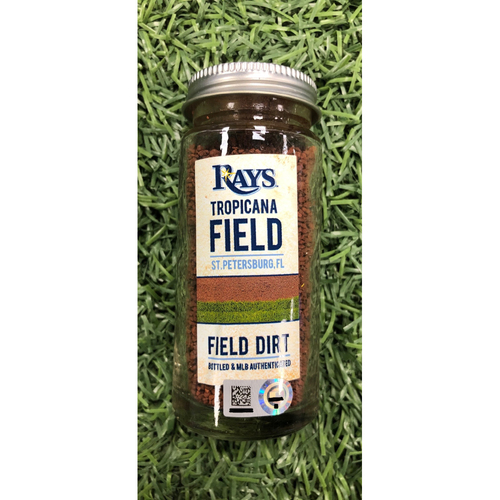 Photo of Rays Baseball Foundation: 2019 Opening Day Game Used Dirt Jar - Tropicana Field