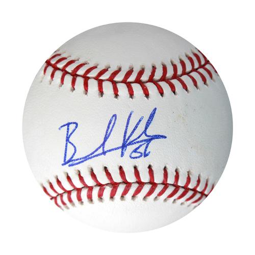 Photo of Autographed Baseball: Brad Keller