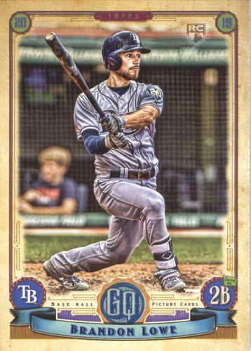 Photo of 2019 Topps Gypsy Queen #186 Brandon Lowe RC