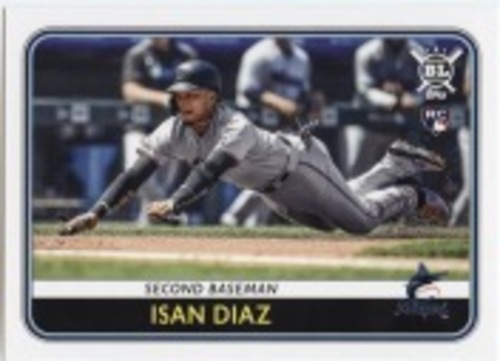 Photo of 2020 Topps Big League #169 Isan Diaz RC