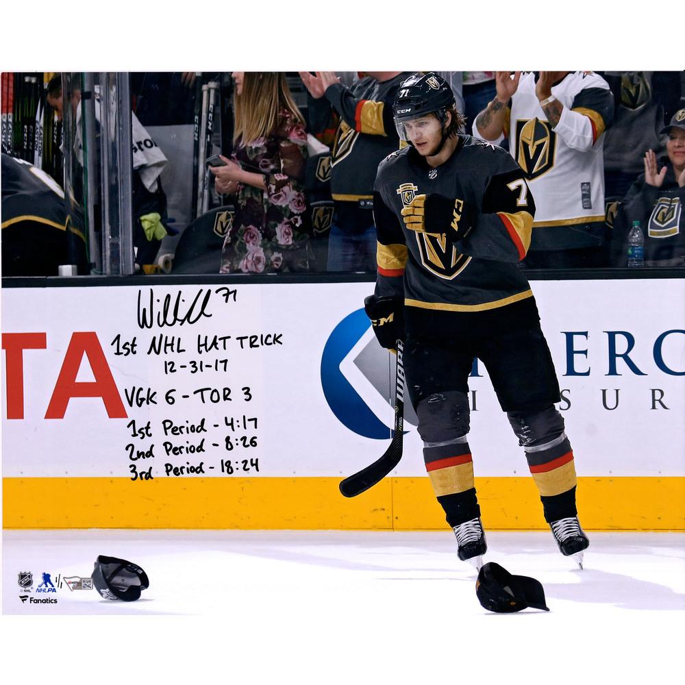 William Karlsson Vegas Golden Knights Autographed 16