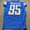 Crucial Catch - Lions Julian okwara Game Used Jersey (10/3/20) Size 42 Washed by Equipment Manager