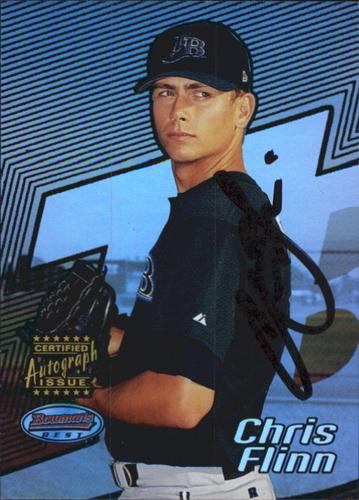 Photo of 2002 Bowman's Best Blue #112 Chris Flinn AU